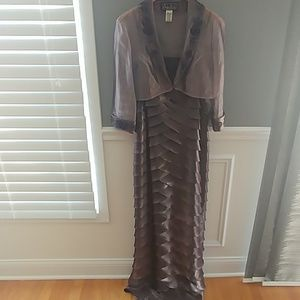 Beautiful eggplant color dress